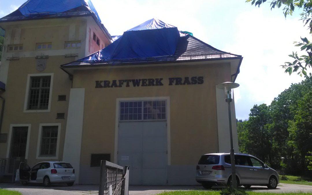 Bauarbeiten Kelag Frantschach
