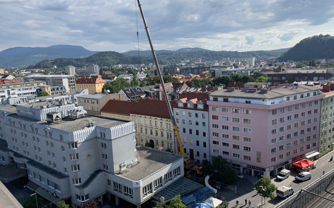 Bauarbeiten Grawe Immobilien GmbH