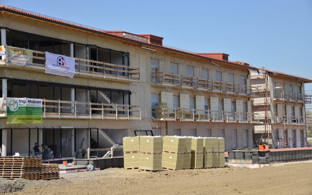 Bauarbeiten Medizinisches Zentrum