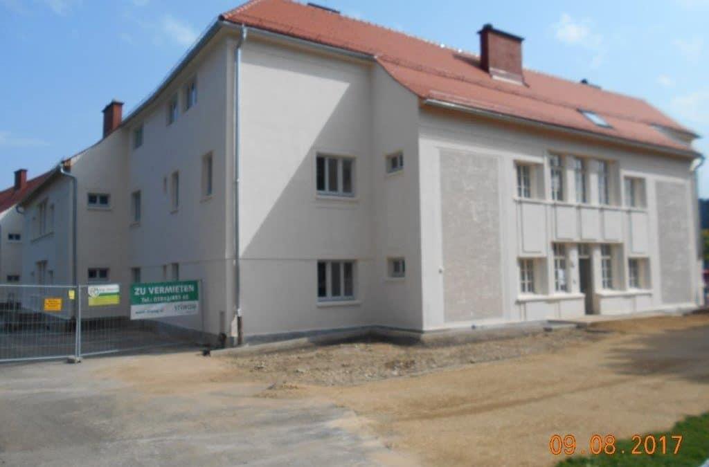 Bauarbeiten Stiwog Immobilien